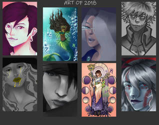 Art Of 2018 Part 2 by Lilyfield