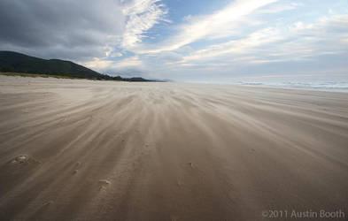 Sand Streaks by austinboothphoto