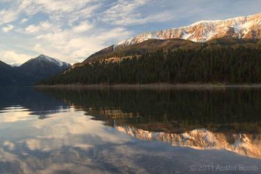 Wallowa Lake Reflections by austinboothphoto