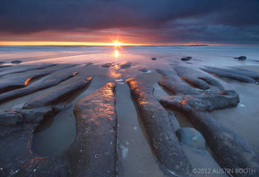 Beverly Beach Sunset by austinboothphoto