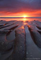 Beverly Beach Sunset 2 by austinboothphoto