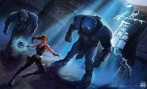 Tomb Raider Underworld: Thrall Attack by LexiGold