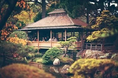Tea Garden II by charleshildreth