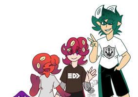 Octo family by superlogan
