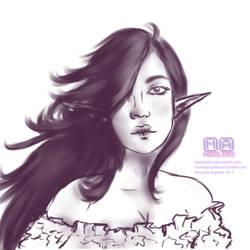 Elf Eveline by Hamandha