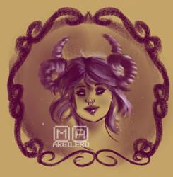 Demon Purple by Hamandha