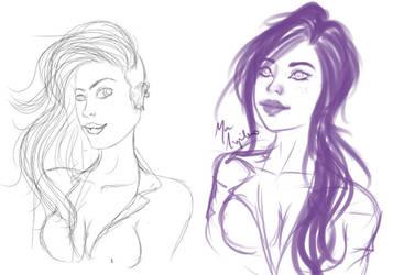 Draw Again by Hamandha