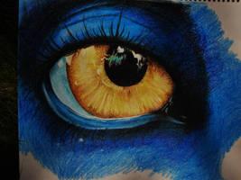 Avatar Eye - Crayola Crayon by animelover4400
