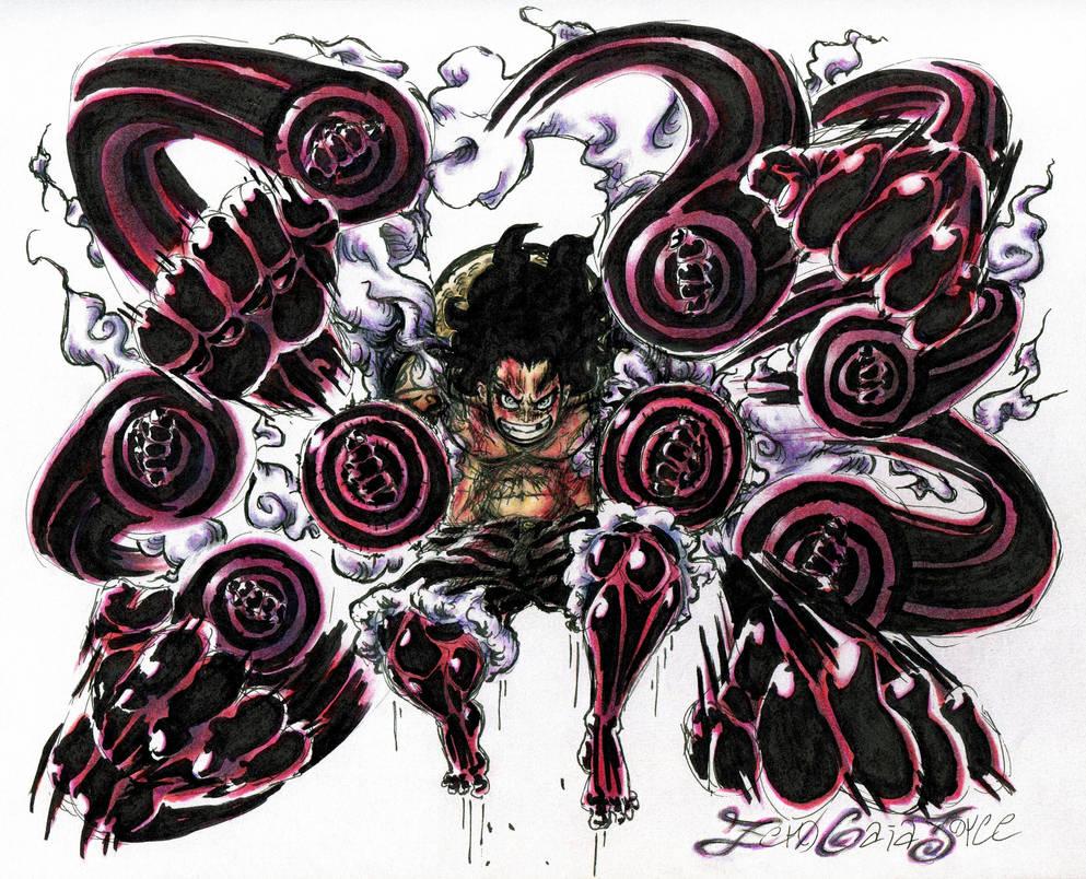 Luffy Snakeman Black Mamba By Zeroterraforce On Deviantart