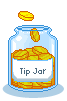 Pixel Tip Jar by SyllArtemis