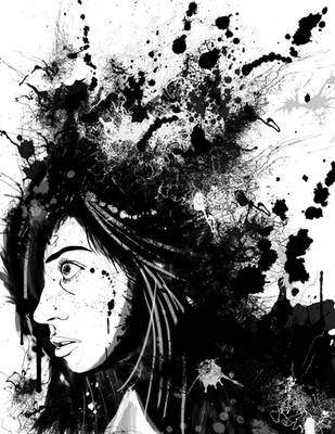 Ink blot portrait by Tark3355