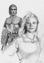 Adenydd and Rhys by nunofrias