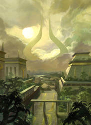 Amonkhet Forest by fooyee