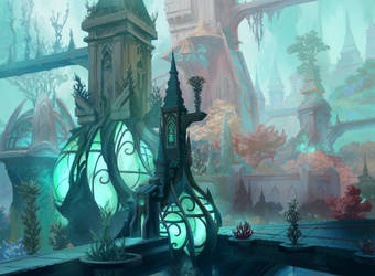 Simic Forest by fooyee