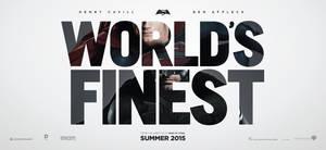 Superman / Batman - World's Finest Banner by Kc-Eazyworld