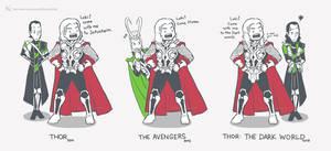 The Adventure of Loki by Kc-Eazyworld
