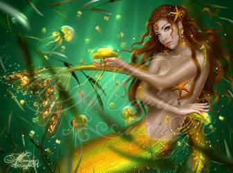 Jellyfish Queen by mashamaklaut
