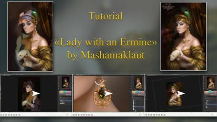 step-by-step tutorial Ledi with Ermine by mashamaklaut