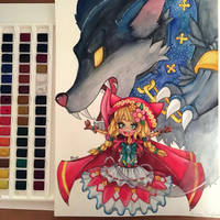 Little red Riding Hood :3 by Bluer-Blu