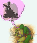 tmnt Don and the puzzle box - Cuddles by Dragona15