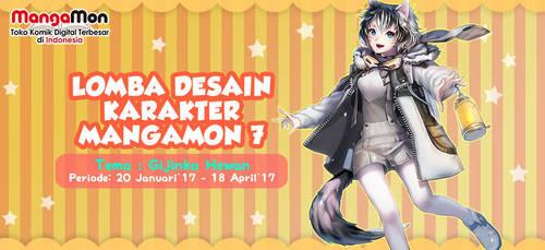 Mangamon design contest! [ID] by ThaharaTeja