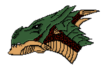 Megairicuz The Lord of All Dragons Sprite by Anttron