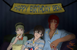 Happy Birthday Ben by SylarGrimm