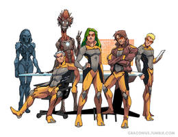 All New X-factor by Graconius