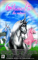 Charlie the Unicorn poster by peachiekeenie