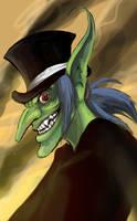 Goblin doodle again by peachiekeenie