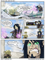 Warcraft comic -dat mount by peachiekeenie