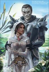 Jedi knight' wedding [C] by VitiateArt