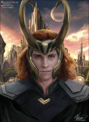 Loki by VitiateArt