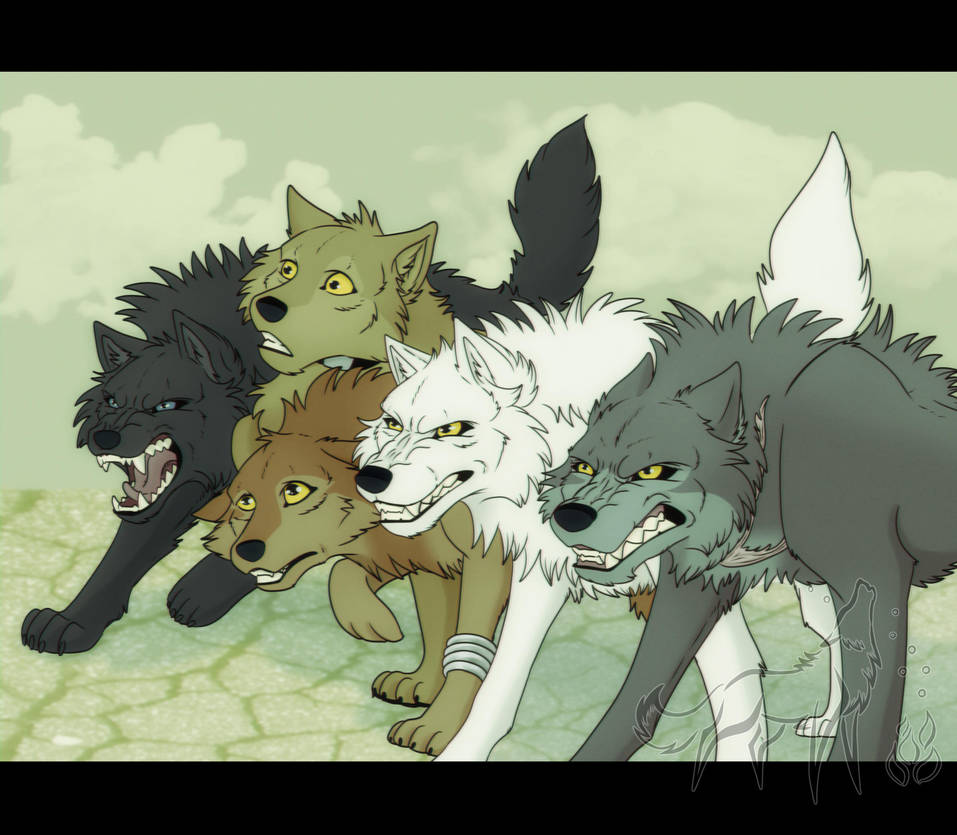 Wolfs Rain VIDEO By EmberWolfsArt
