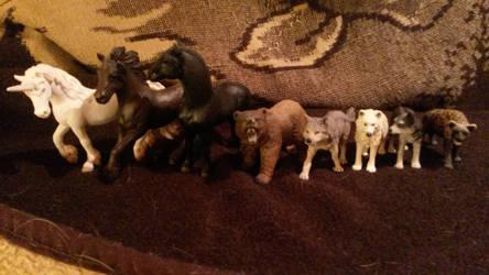 My animal referecnes by EmberWolfsArt
