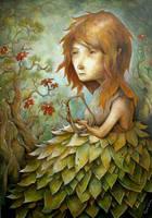 La jeune fille a la Lyre by felixgi