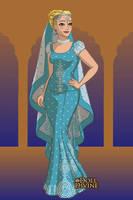 Cinderella Sari by SilkmousetheNeko