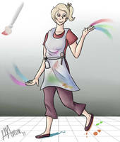 Humanized Corel Painter 4 by Marleepup