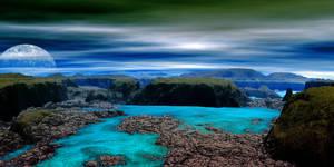 BLUE MOON CANYON by Kwintzy