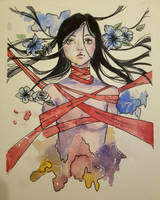 Watercolor- tide up by Uta97