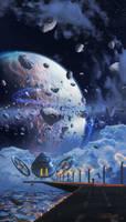 Asteroid's belt by PedroDeElizalde