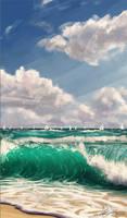 On the shore by PedroDeElizalde