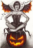 Halloween Fairy by cldart