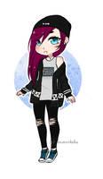 random girl adoptable (closed) by sugar-flavored-blood