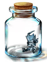 Blurr in a bottle by plunger02