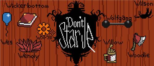Don't Starve - Pixel Art by Aundee-D-Cat