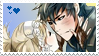 Lissa x Lon'qu Stamp by KumoriDragon