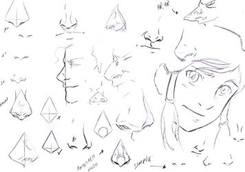 Tips Nose by Dannith
