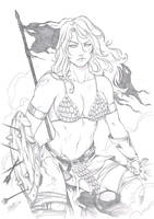 RED Sonja by Dannith