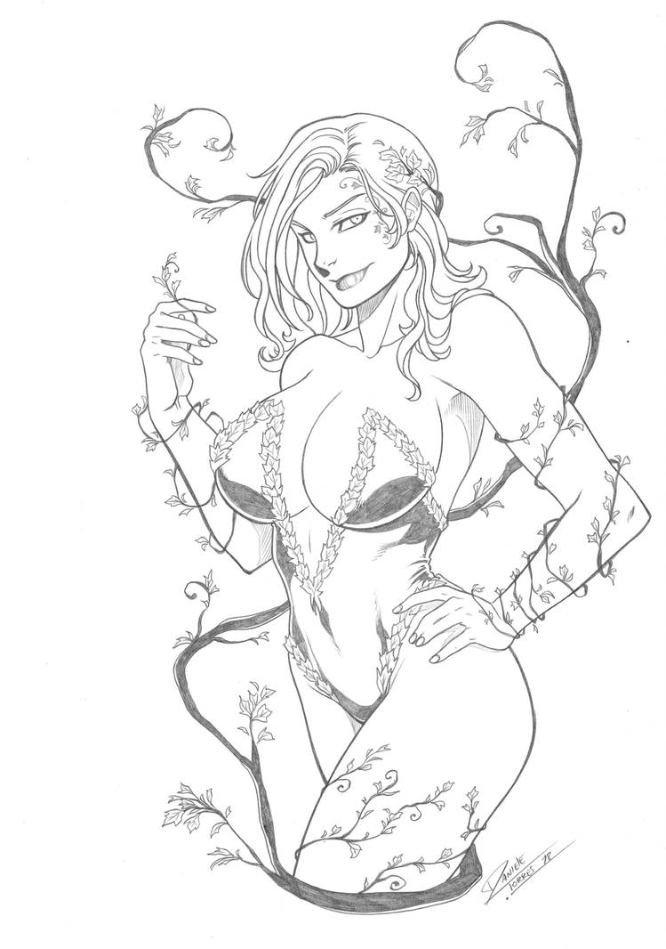 Poison ivy by Dannith